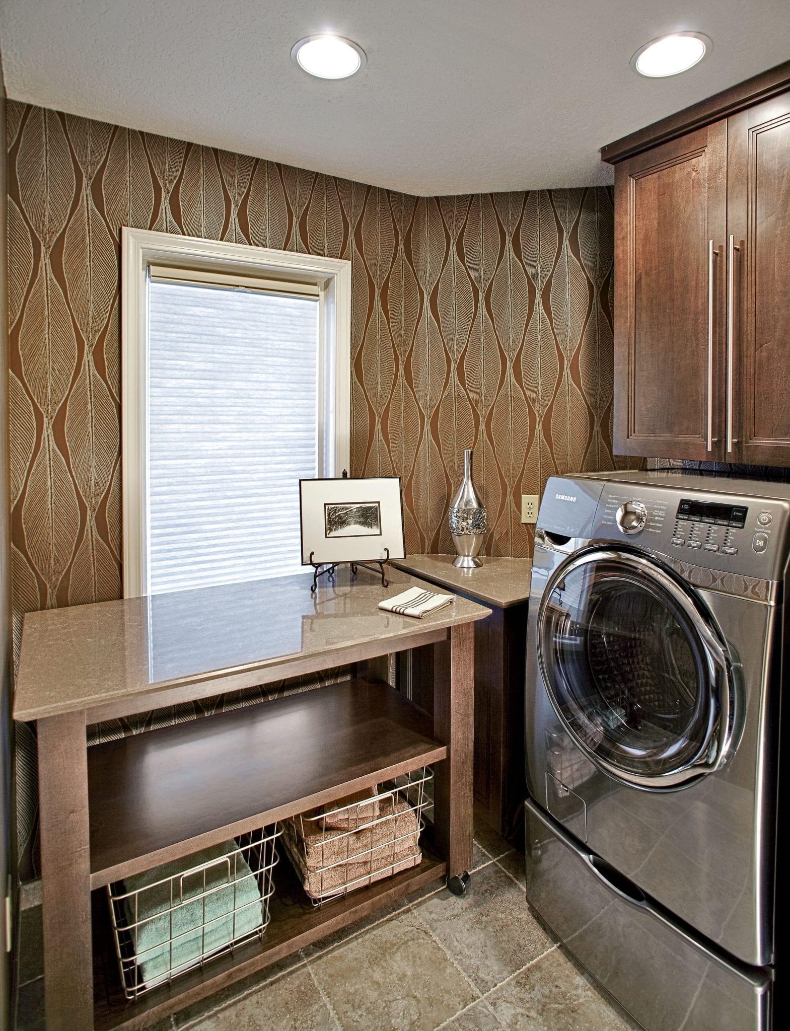 Brandon Lake Cottage Laundry Room